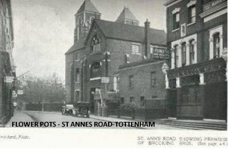 stannes1926_flower_pots_and_st_ignacious_church.jpg (36761 bytes)